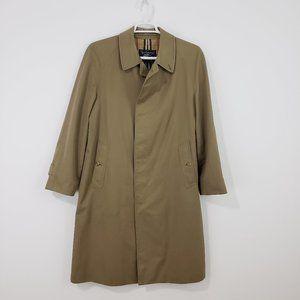 BURBERRY Vintage Men's Khaki Trench Coat 48R